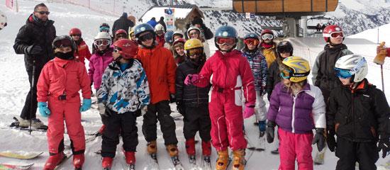 Mouguerre Jeunesse : Ski à Saint Larry