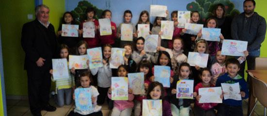 Mouguerre Jeunesse : Concours de dessins aux motifs de Pâques à l'ecole du Bourg