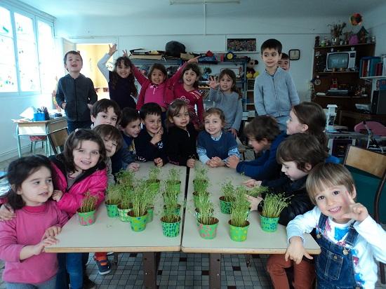 Mouguerre Jeunesse : La nature s'éveille à l'école du port