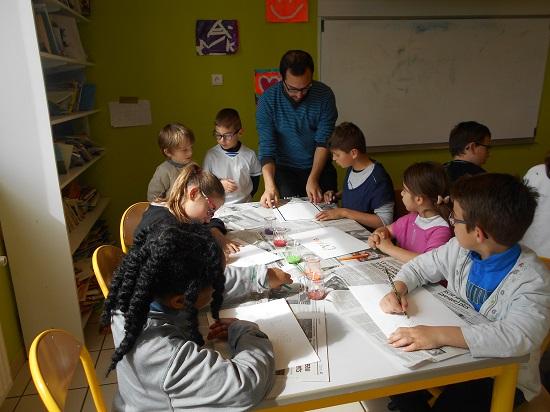 Mouguerre Jeunesse : Le centre de loisirs fait de l'art