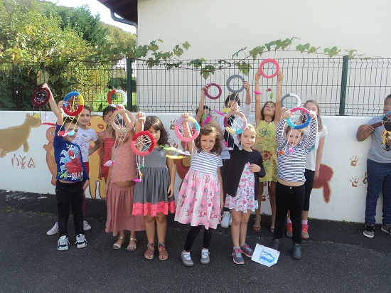 Mouguerre Jeunesse : « Rencontre , Partage et Solidarité » à l'école du port