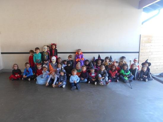 Mouguerre Jeunesse : L'Automne en fête au centre de loisirs chez les poussins