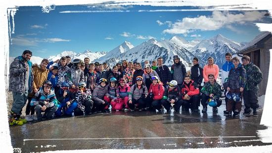 Mouguerre Jeunesse : Les Jeunes au ski
