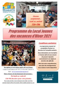 Programme Local Jeunes